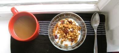 Рецепт Гранола с медовым сиропом
