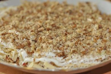 Рецепт Салат Пикантный с курицей и орехами