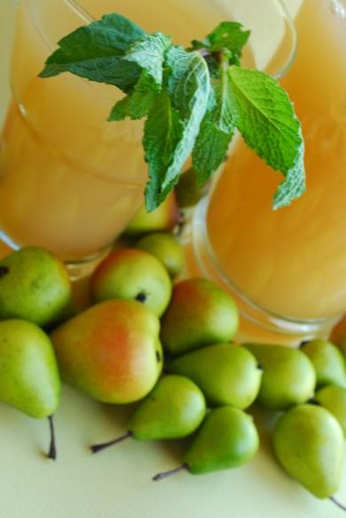 Рецепт Грушевый лимонад