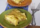 Ананасовый пирог на оливковом масле