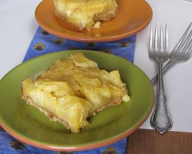 Рецепт Ананасовый пирог на оливковом масле