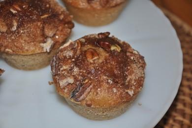 Рецепт Банановые кексы с пеканом