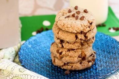 Рецепт Печенье с рубленым шоколадом