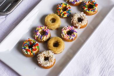 Рецепт  Миниатюрные лимонные пончики
