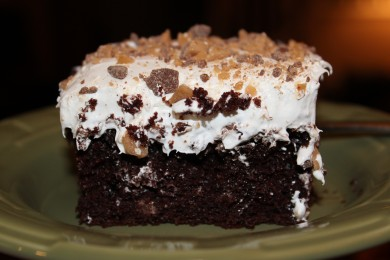 Рецепт Шоколадно-карамельный торт