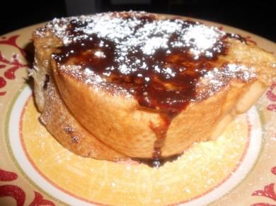 Рецепт Французские тосты с шоколадным соусом
