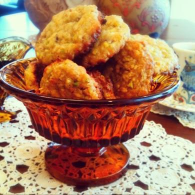 Рецепт Овсяное печенье с фисташками и апельсином