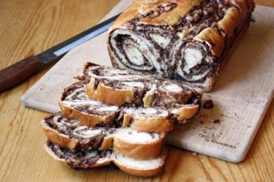 Рецепт Сладкий хлеб Повитица