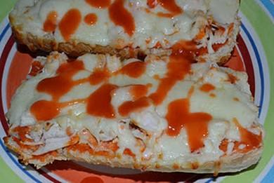 Рецепт Куринная пицца Буффало