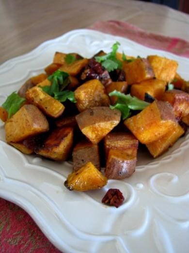 Рецепт Пряный картофель