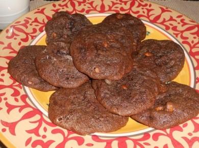 Рецепт Печенье со сливочным ликером и  кремом из маршмеллоу