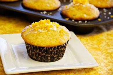 Рецепт Бананово-цитрусовые кексы