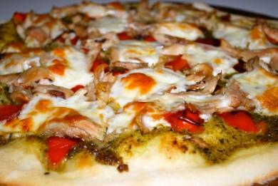 Рецепт Пицца с курицей и красным перцем