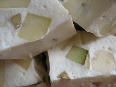 Рецепт Творожно-фруктовое суфле