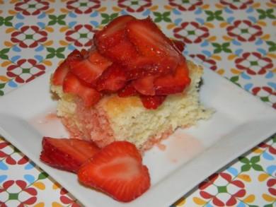 Рецепт Песочное печенье с клубникой