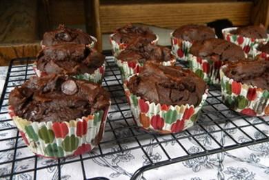 Рецепт Маффины с двойным шоколадом