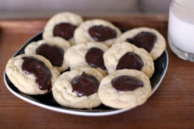 Рецепт Печенье с малиновым кремом ганаш