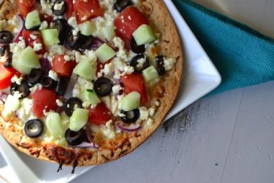 Рецепт Греческая пицца