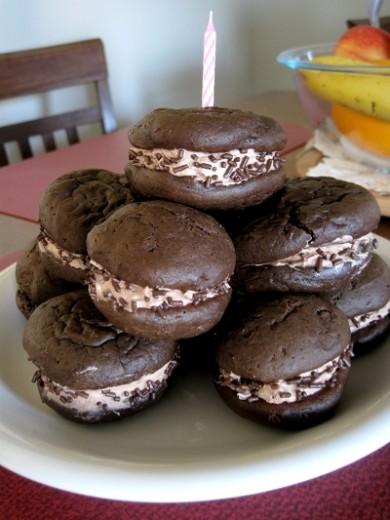 Рецепт Печенье-сэндвичи с нутеллой