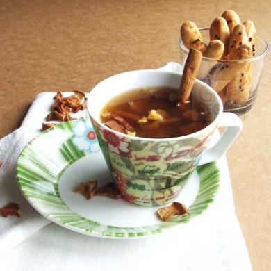 Рецепт Компот с сушеными яблоками