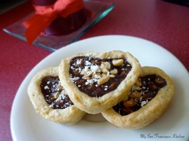 Рецепт Тарталетки с шоколадом и орехами