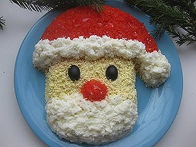 Рецепт Салат Дед Мороз