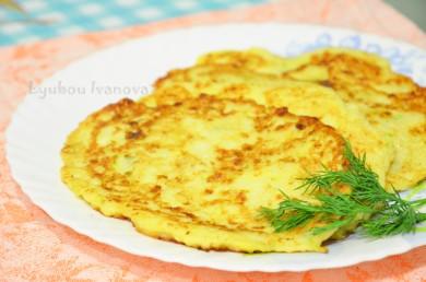 Рецепт Оладьи с кабачками и творогом
