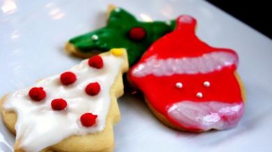 Рецепт Печенье с разноцветной глазурью