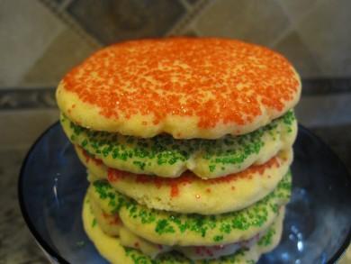 Рецепт Печенье с цветным сахаром