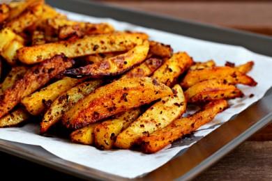 Рецепт Печеный картофель со специями