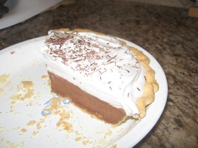 Рецепт Шоколадный пирог Французский шелк