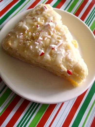 Рецепт Пирожные с белым шоколадом и мятной глазурью