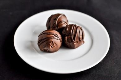 Рецепт Шоколадно-кокосовые трюфели