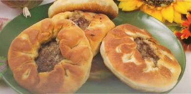 Рецепт Беляши с мясом