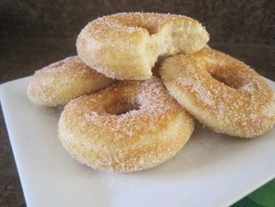 Рецепт Пончики с сахаром и корицей