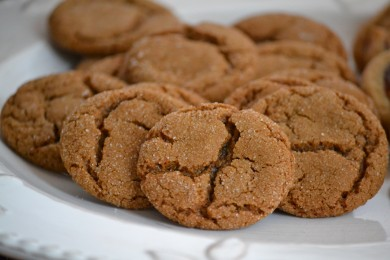 Сладкое имбирное печенье