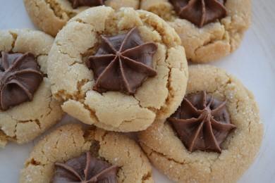 Рецепт Печенье с арахисовым маслом и шоколадом