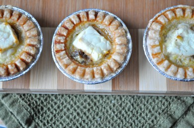 Рецепт Тарталетки с сыром и луком