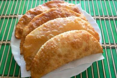 Рецепт Чебуреки с капустой