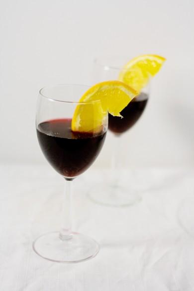 Рецепт Коктейль с красным вином