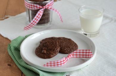 Рецепт Шоколадное печенье с зернами кофе