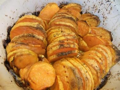 Рецепт Жаренный сладкий картофель