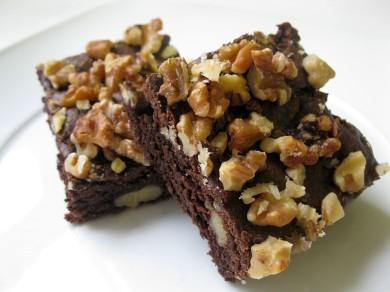Рецепт Шоколадные брауни с орехами