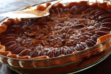 Рецепт Пирог с шоколадом и пеканом