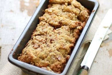 Рецепт Сладкий хлеб с грушей и орехами