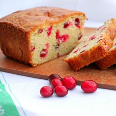 Рецепт Клюквенный хлеб