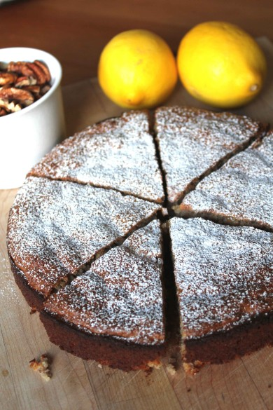 Рецепт Лимонный пирог с пеканом