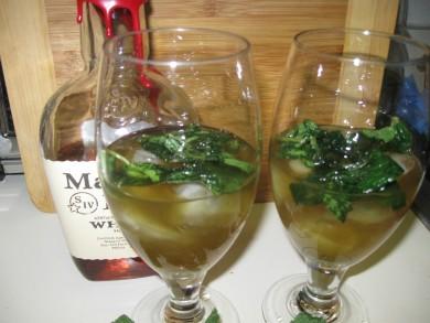 Рецепт Мятный джулеп