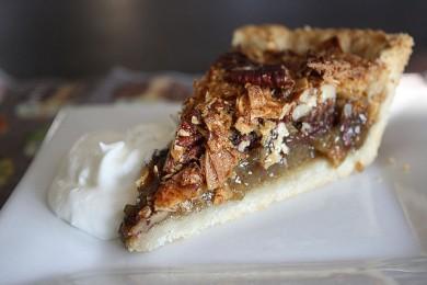 Рецепт Кокосовый пирог с пеканом