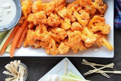 Рецепт Печеная цветная капуста в остром соусе